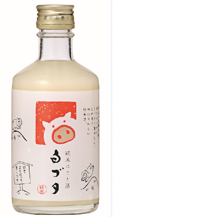 環日本海 純米にごり酒 白ブタ
